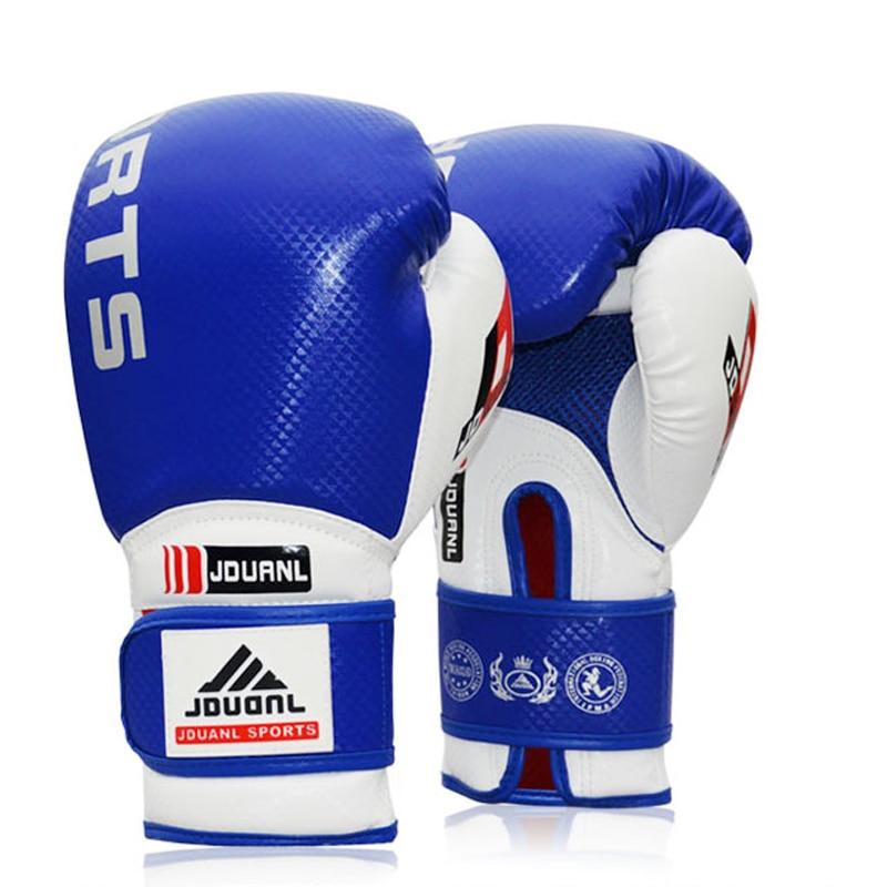 Doreza boksi me cilësi të lartë 10oz e zezë e kuqe blu e kuqe - Veshje sportive dhe aksesorë sportive - Foto 4