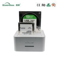 Aluminum Dock Station Hdd Usb Sata Case 2 5 3 5 Hard Disk Case Hd Externo