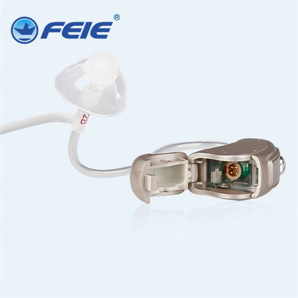 audifonos para sordos Feie marca MY-19S High & Low Frequency Digital RIC Type hearing aid tube best Gift мужской ремень cinto couro marca