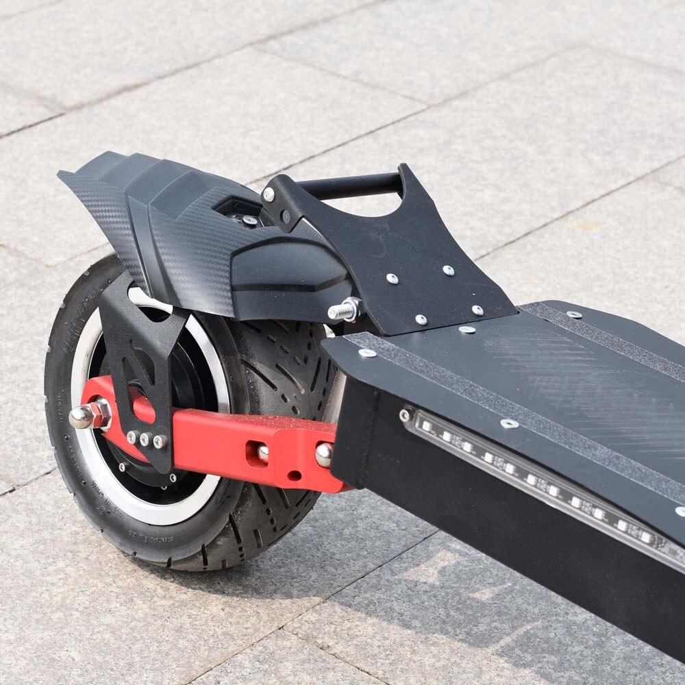 Ville scooter meilleur scooter bon marché citycoco 2 roue fat tire vélo électrique 3200 W 60 V avec Voltmètre - 5