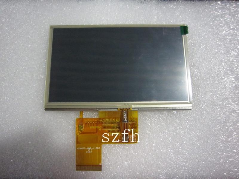 5 colių GPS juostos tp kd50g23-40nb-a1-revc GPS navigacijos ekranas kd50g23-40nb-a1