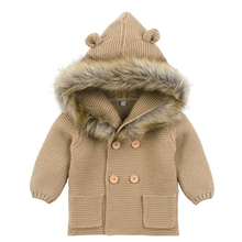 Baby Boys Girls Hooded Coat Outfits