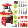 Kids Kitchen Toys Beauty Cooking Toy Play For Children Toys Pretend Play Toys With Light Sound