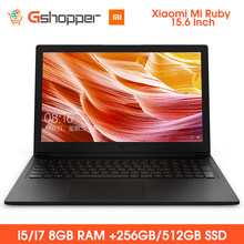 Năm 2019 Tiểu Mi Mi Ruby 15.6 inch Notebook Windows 10 Intel Core i5/I7 Quad Core 8 GB RAM 256/512 GB SSD Laptop(China)