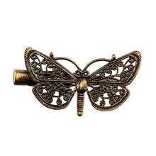 Для женщин мода волос цветок pin девушек металлов заколка бабочка зажим для волос, аксессуары для волос