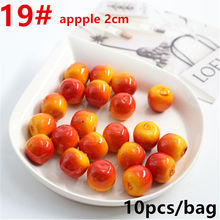 10 pcs Strawberry Simulation Fruit Artificial Mini for Party at Home Wedding Kitchen Decoration