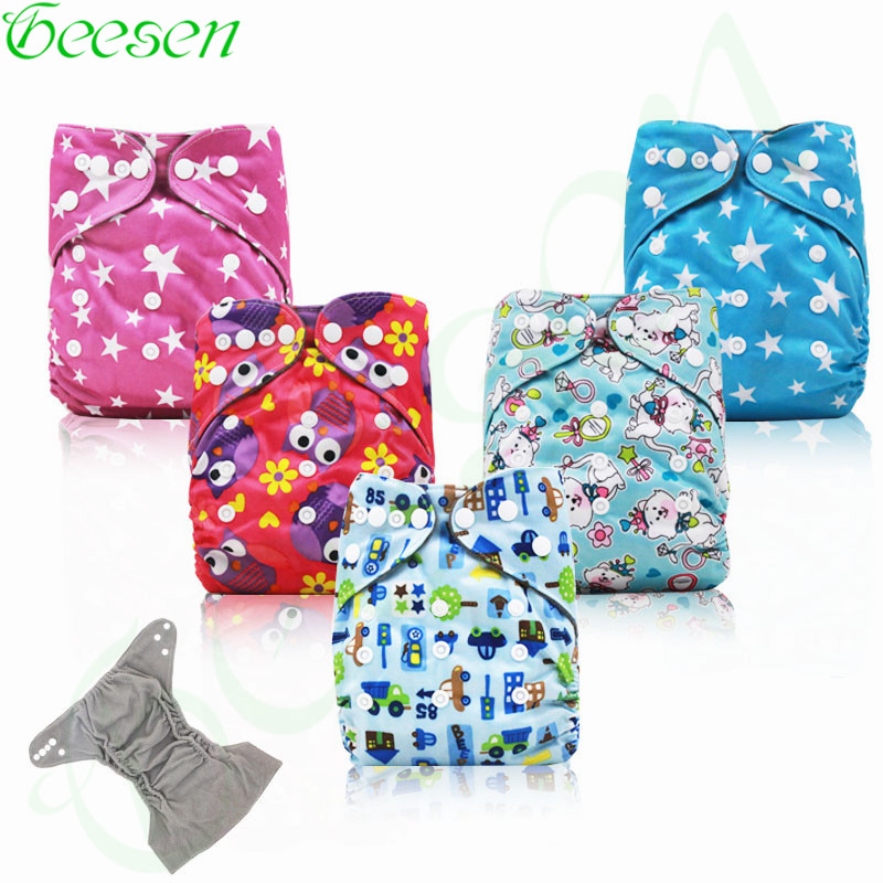 Charcoal Cloth Diaper for Baby ,Washable Bamboo Charcoal Pocket Cloth Diaper ,Reusable Cloth Diaper Cover with Double Gussets