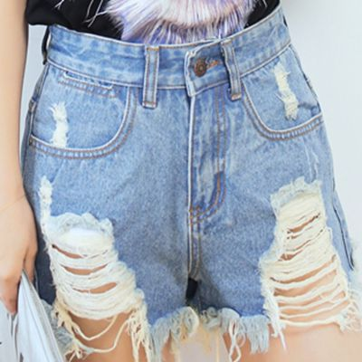 Aliexpress.com : Buy 2015 summer style shorts jeans womens ripped ...