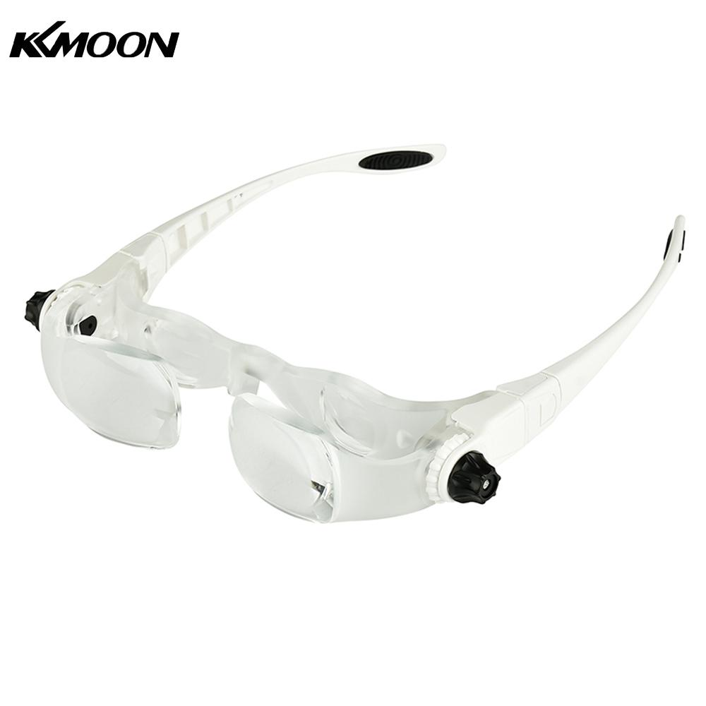 0526ef15e7 KKmoon Headband 3.8X 4.0X Bracket TV Glasses Magnifier Loupe Goggles  Magnifying Glass with