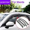 QCBXYYXH Car Styling 4pcs Lot Window Visors For Mazda 2 3 5 6 CX 5