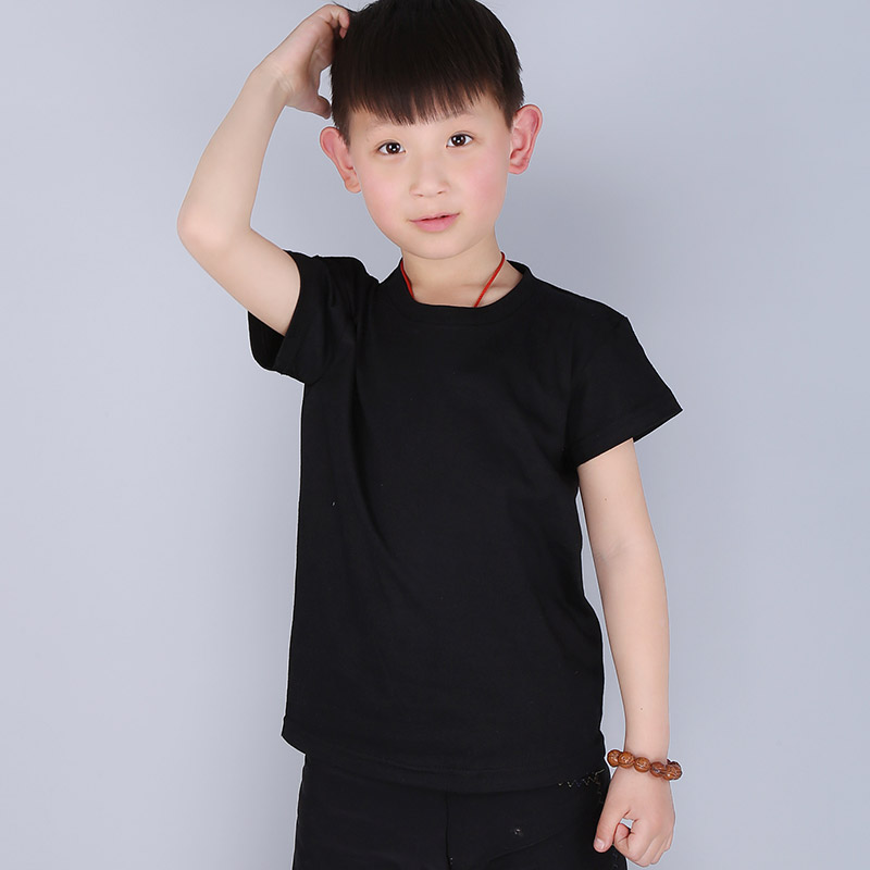 Free shipping 2016 new children T-shirt 13 colors 100% cotton short-sleeved T-shirt wild solid color boys girls T-shirt Clothes