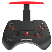 2018 IPEGA PG-9028 PG 9028 Bluetooth Gamepad V3.0 Wireless Touchpad Game Controller Build-in Holder for iOS Smartphone PC TV Box