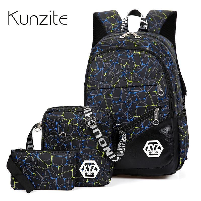 купить Backpack Student College Waterproof Nylon Backpack Men Women Material Escolar Mochila High Quality Laptop Backpack School bags недорого