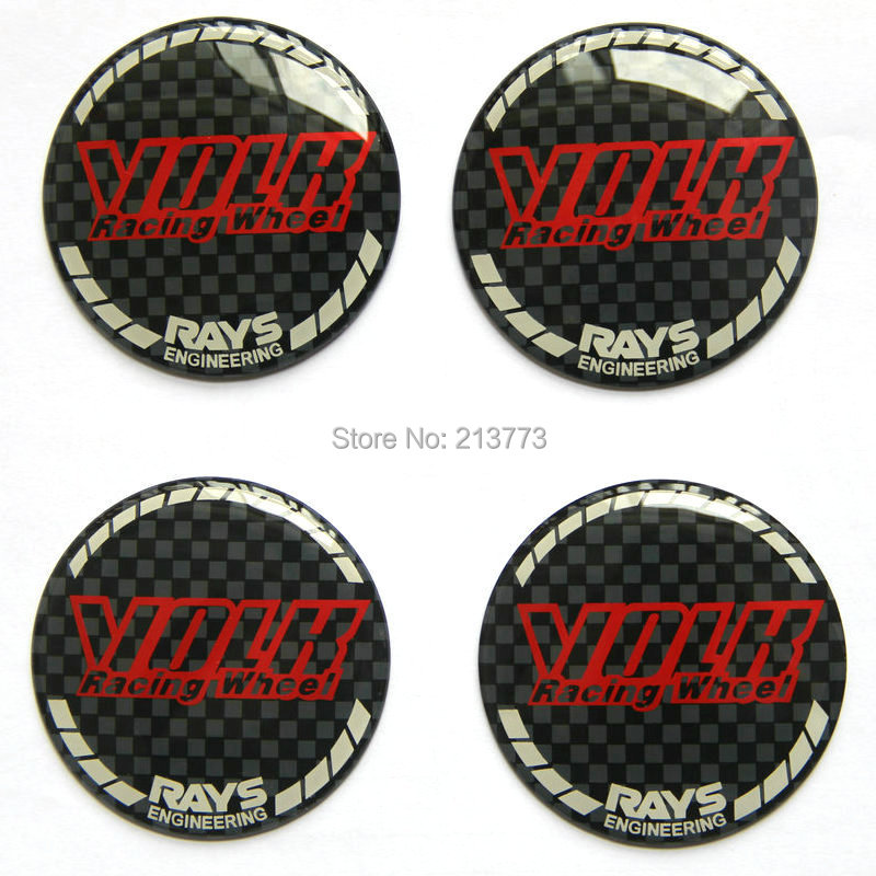 Volk Rays Logo Emblem Wheel Center Cap Cover Stickers For