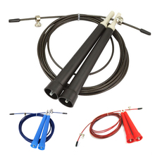 Black,Blue,Red Speed Jump Rope Crossfit Fitness Equipment for Beginner,Plastic Handles With Ball Bearing