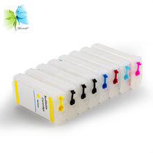 12 colors 70 73 refill empty ink cartridge with permanent chip + 500ml pigment ink for HP Designjet z3200ps