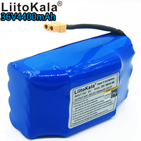 Liitokala 36v 4.4ah lithium battery 10s2p 36v battery 4400mAh lithium ion pack 42V 4400mah scooter twist car battery