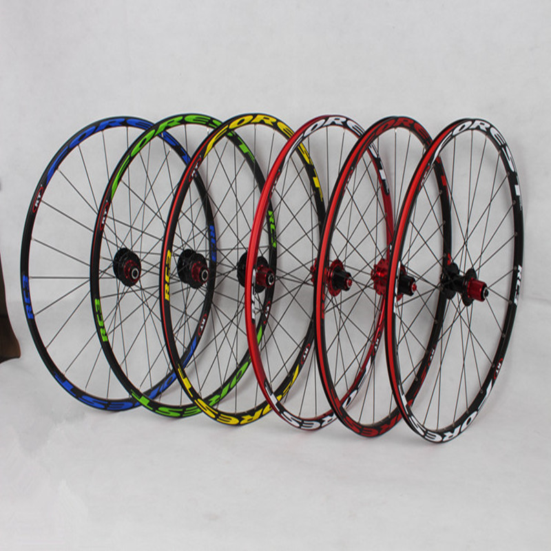 MEROCA Mountain Bike Bicycle front 2 rear 4 sealed bearing aluminum alloy rim wheels