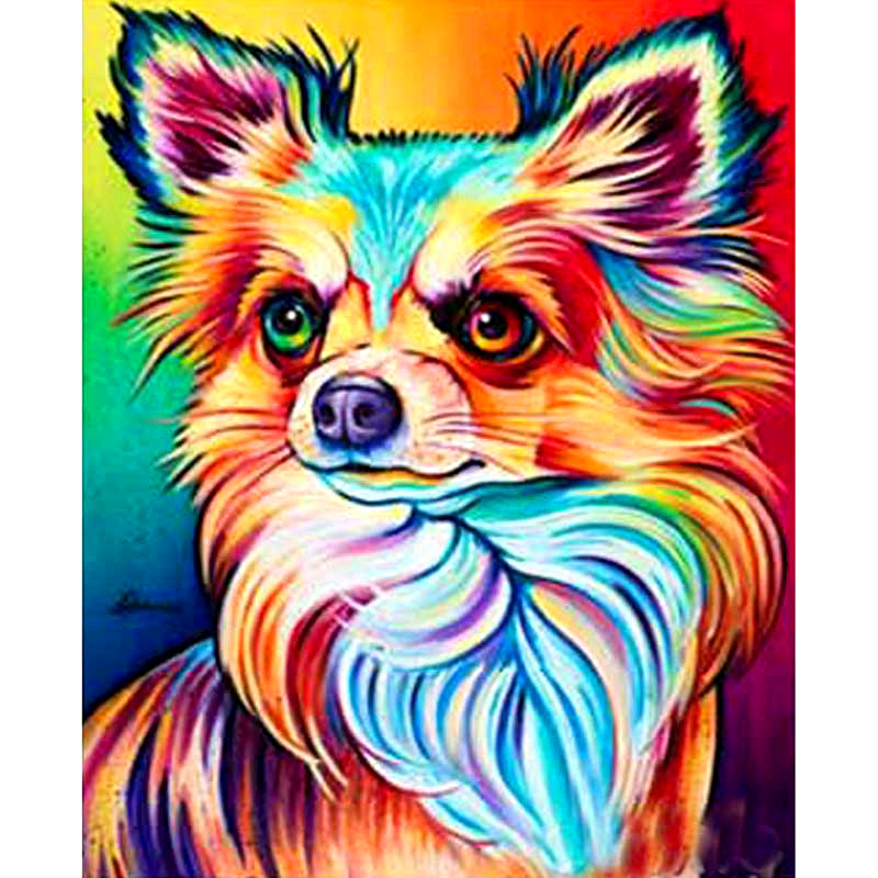 Full Square/Round Drill 5D DIY Diamond Painting chihuahua dog 3D Embroidery Cross Stitch Mosaic Rhinestone Home Decor gift