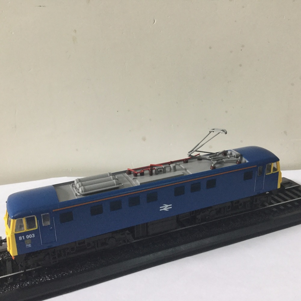 ATLAS LIMITED 1 87 Class 81 003 1960 130 TRAM Model for gift in Blue Color in perfect condtion in Model Building Kits from Toys Hobbies