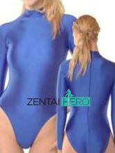 Free Shipping DHL Sexy Lycra Spandex Adult Unitard Catsuit Bodysuit Blue Sexy Zentai Lycra Catsuit Fullboby
