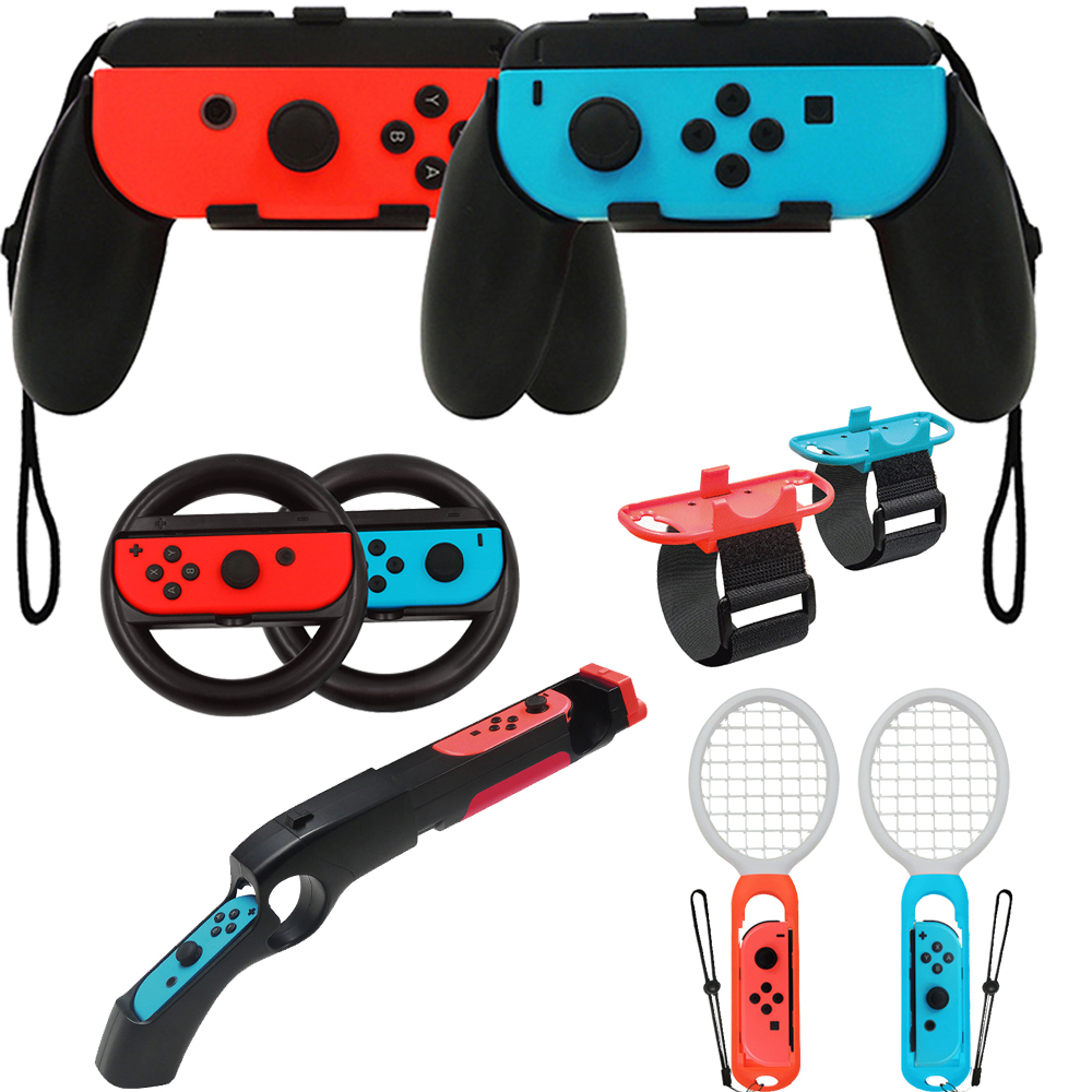 2pieces/set Controller Grips Joy-Con Case For Nintendoswitch Nintend Switch Joy Con Handle NS N-Switch Game Console Accessories
