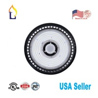 6 pack 150W UFO Led High Bay Lighting with Angle Commercial Lamp Microwave Senor