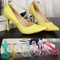 1 Pair Transparent High Heeled Flat Shoe Safety Clips Bands Strap Locking Shoe Silicone Shoelace Belt Wedding Outside Universal