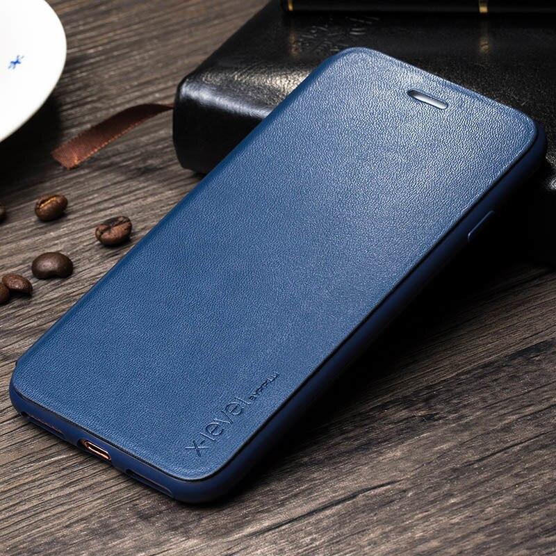 Mode Slim Kulit & TPU Balik Kasus Untuk Apple iPhone 8 7 6 6 s - Aksesori dan suku cadang ponsel - Foto 2