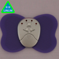 Electric Butterfly Massager Pads Therapy Vibrator Shock Body ABS Muscle Trainer Stimulator Massage Waist Weight Loss
