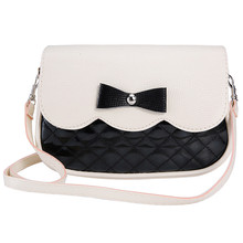 New Women Ladies PU Leather Wallet Fashion Lovely Girl Bowknot Bags 2017 High quality Clutch Wallets