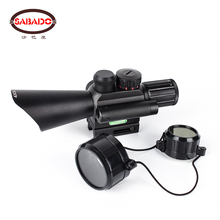 Hunting Range 4X30 semiautomatic standard rifle Laser aiming Aiming sighting device Air Soft Sight Tactical Sighting Telescope