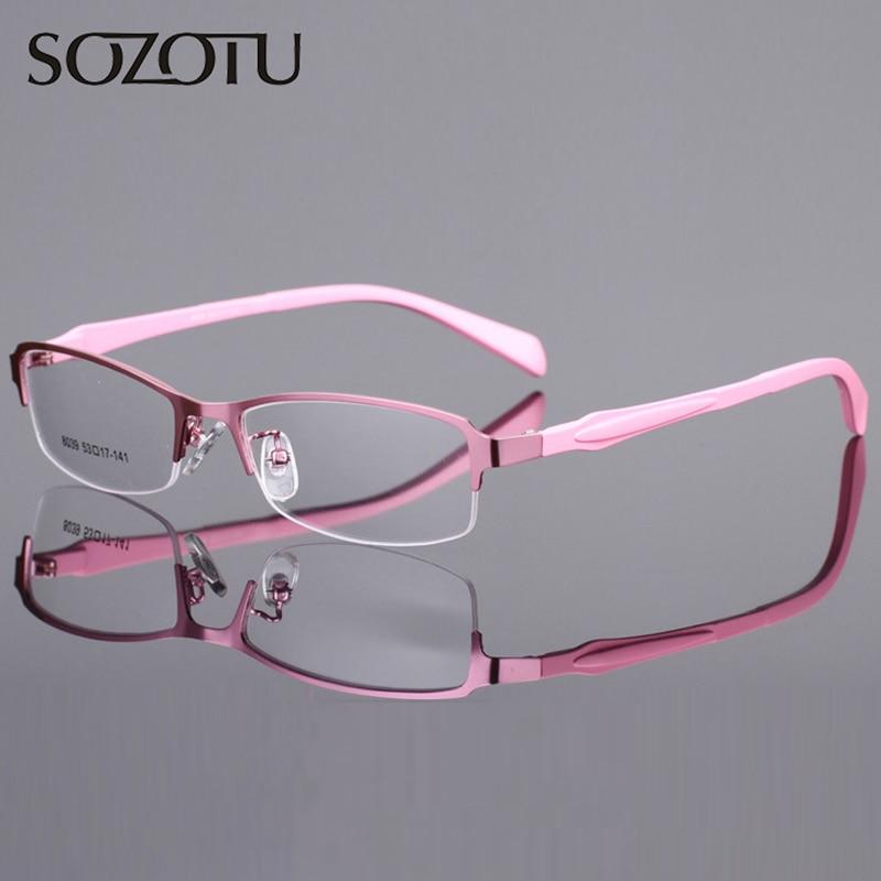 Optische Brillengestell Frauen Computer Brillen Brillengestell Für Frauen Transparente Klare Linse Weibliche YQ052