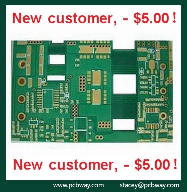 High quality custom fr4 pcb keyboard pcb design breadboard
