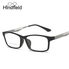 Hindfield 2017 Retro Estudiante de Moda Ultra-ligero Marco de Los Vidrios Ópticos Lentes Recetados Gafas Hombres Mujeres gafas de sol