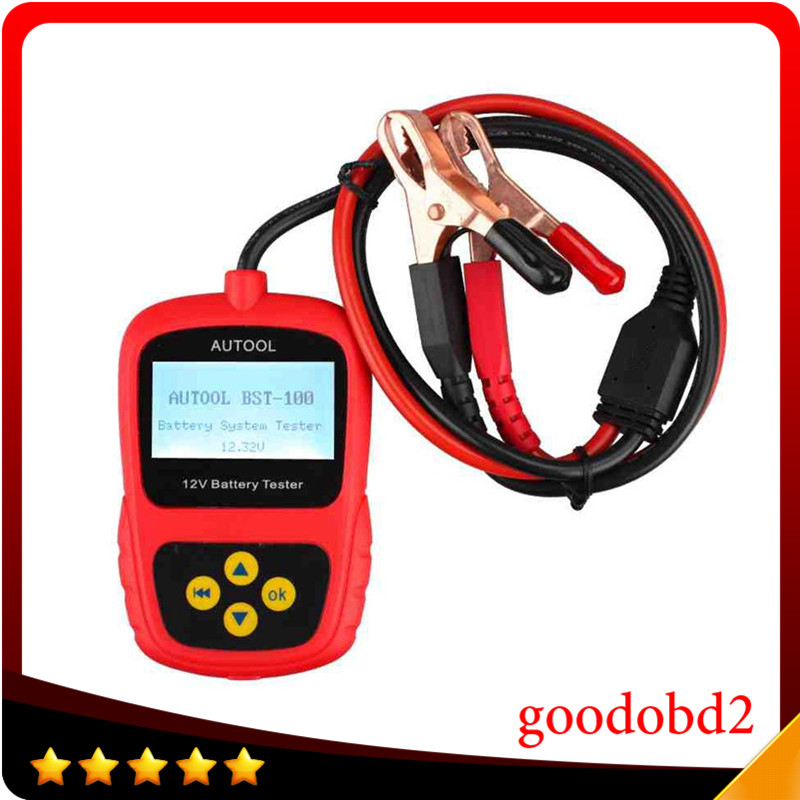 12V Multi Languages BST 100 Battery Tester Auto BST100 Battery Tester with Portable Design Directly Detect