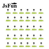 120Sets 720PCS 6 In 1 Stopper For The Float Space Beans Fishing Tackle Water Fishing Floats