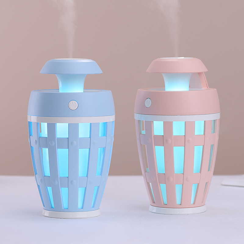 260ML Swan Humidifier With Aroma Lamp Essential Oil Ultrasonic Electric Aroma Diffuser Mini USB Air Humidifier Fogger