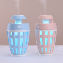 260ML Swan Humidifier with Aroma Lamp Essential Oil Ultrasonic Electric Diffuser Mini USB Air Fogger