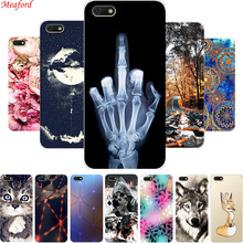 Honor 7A Case 5.45 For Huawei DUA-L22 Silicone Soft TPU Back Cover Phone Russia A7 7 A