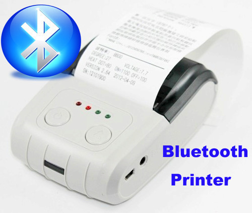 58mm Mini Portable Bluetooth Wireless Receipt Thermal Printer Small Ticket Barcode Pos Printer For Android Pc Printer Adf Printer Partprinter Cardboard Aliexpress