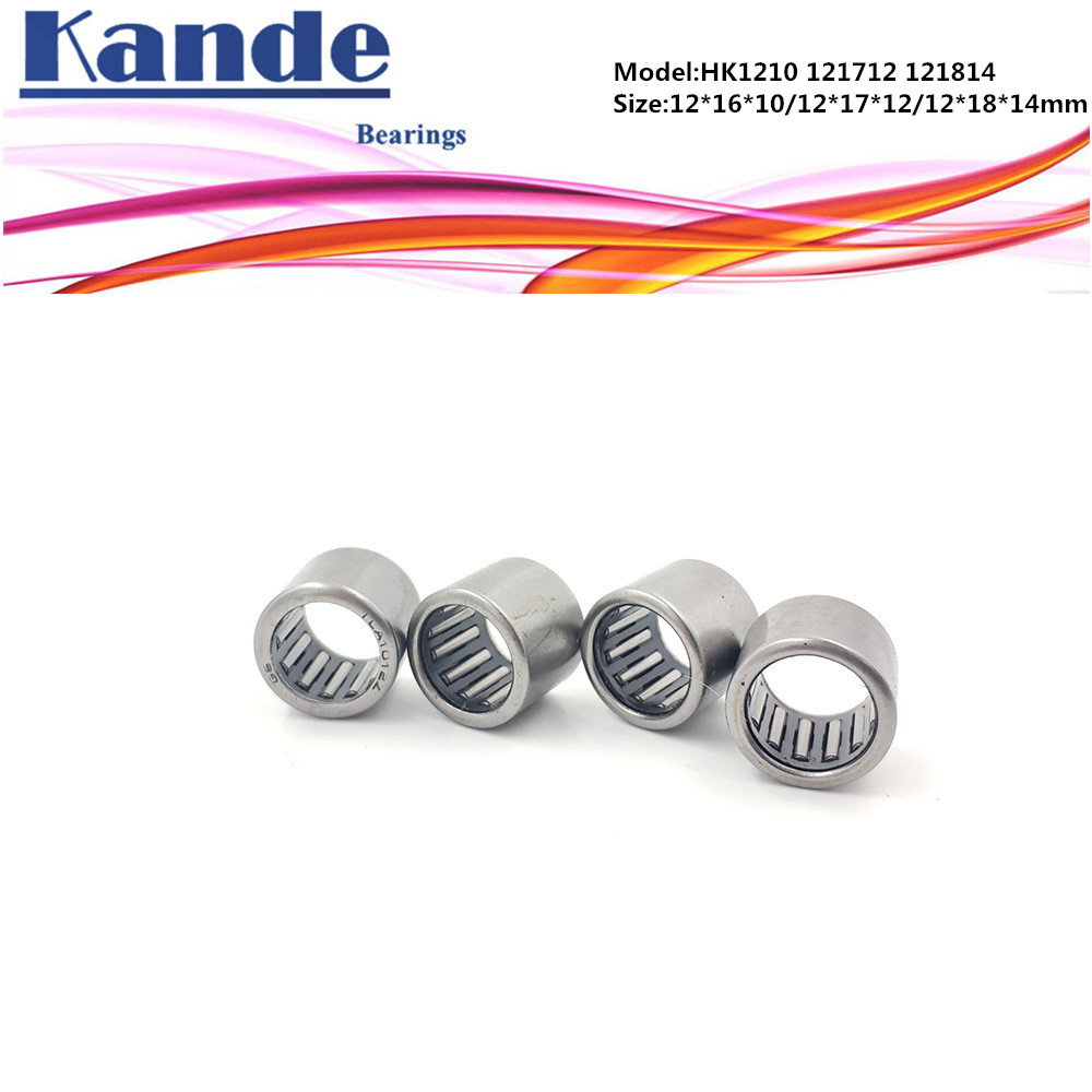 HK1210 HK121712 HK121812 HK121814 Needle Bearings Needle Roller Bearing 12x16x10 12x17x12 12x18x12 12x18x14