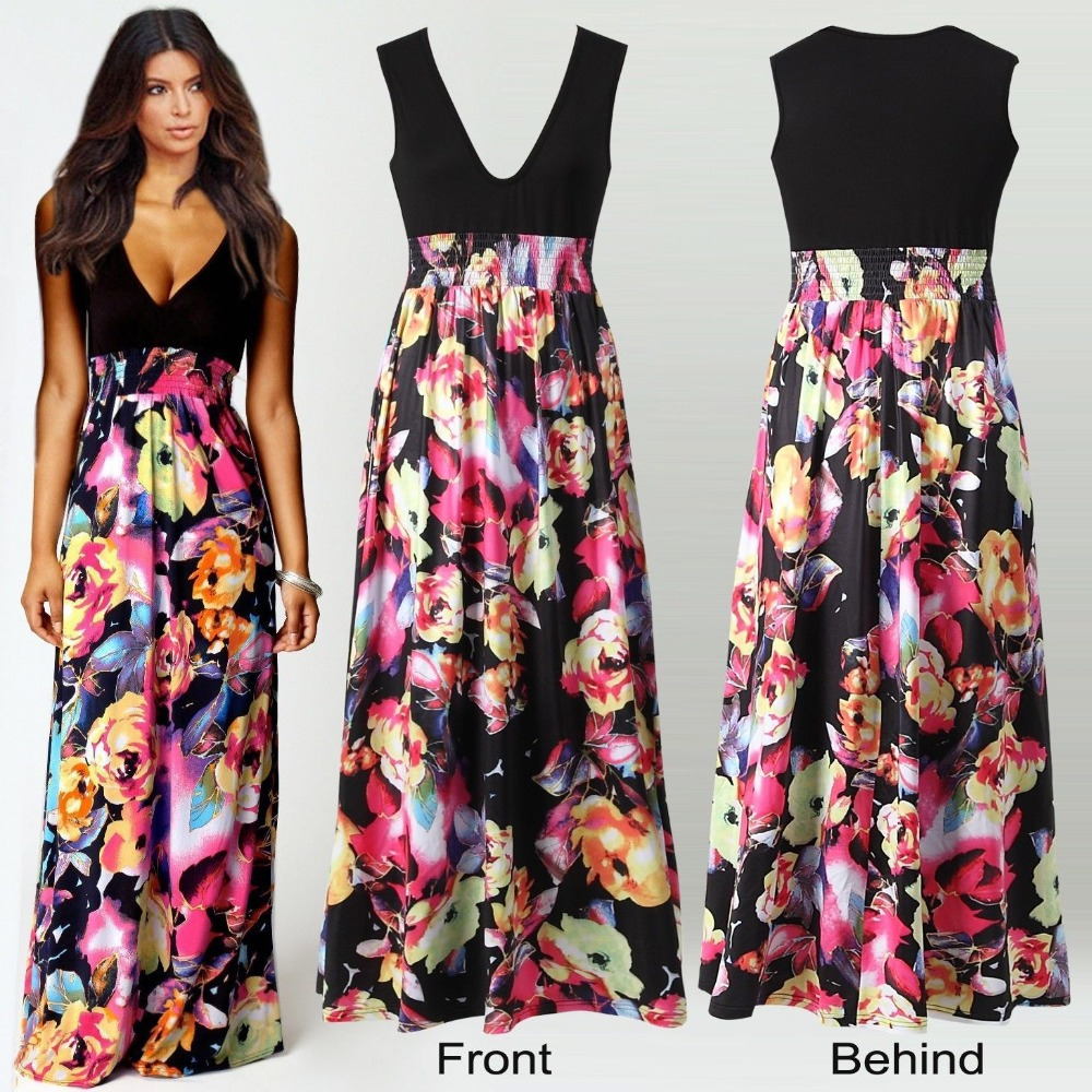 Popular Summer Dresses Maxi-Buy Cheap Summer Dresses Maxi lots ...