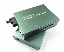 10 / 100M Single-mode single megabytes fiber media converter optical transceiver RJ-45 1 SC 20KM
