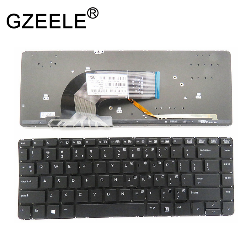 GZEELE New US keyboard fit FOR <font><b>HP</b></font> <font><b>ProBook</b></font> <font><b>440</b></font> <font><b>G1</b></font> 640 <font><b>G1</b></font> 645 <font><b>G1</b></font> 445 <font><b>G1</b></font> G2 430 G2 Laptop Keyboard backlight image