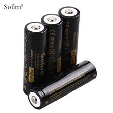 Sofirn 6pcs 14500 900mAh Rechargeable batteries 3.7V Li-lion Battery Pre-charged AA Batteries for LED Flashlights(China)