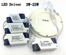 High quality Dimable LED Driver 3W 4W 6W 9W 15-18W 25W AV85-265V 50/60Hz Bulb Light Downlight Lamp Free Shipping