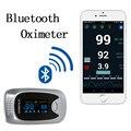 Puente Nuevo Dedo Oxímetro de Pulso de Oxígeno Arterial Monitor de Saturación oximetro de dedo Bluetooth para el Cuidado de La Salud