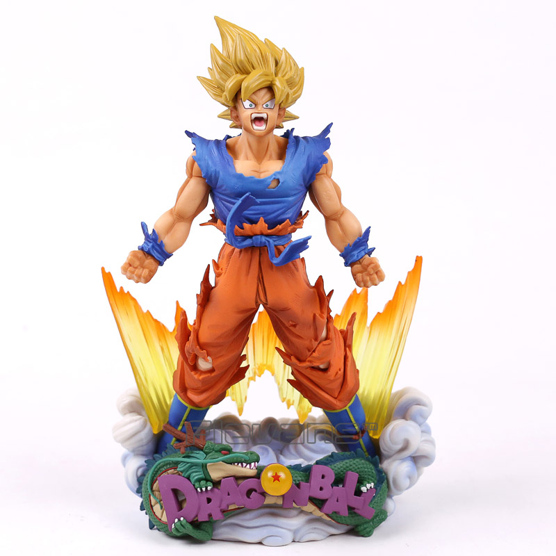 Dragon Ball Z Super Master Stars Diorama The Son Goku The Brush PVC Figure Collectible Model Toy 24cm chris wormell george and the dragon