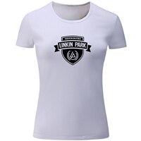 Minutes To Midnight Linkin Park Print T Shirt Women Patchwork Girl S T Shirt Summer Short